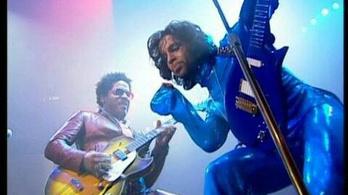 Egy lakás árát fizették ki Prince fellépőruhájáért