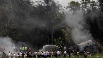 Megtalálták a lezuhant kubai repülőgép egyik feketedobozát
