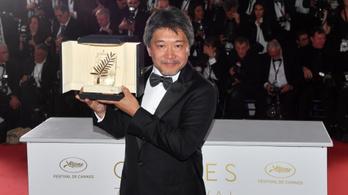 Több mint húsz év után újra japán film nyerte az Arany Pálmát