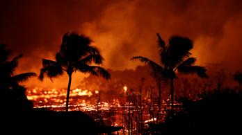 Súlyos sérültje is van a hawaii vulkánkitörésnek