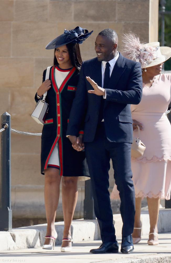 Szerencsére azonban a hírességek sem maradtak távol az eseménytől, eljött például Idris Elba és szerelme, Sabrina Dhowre
