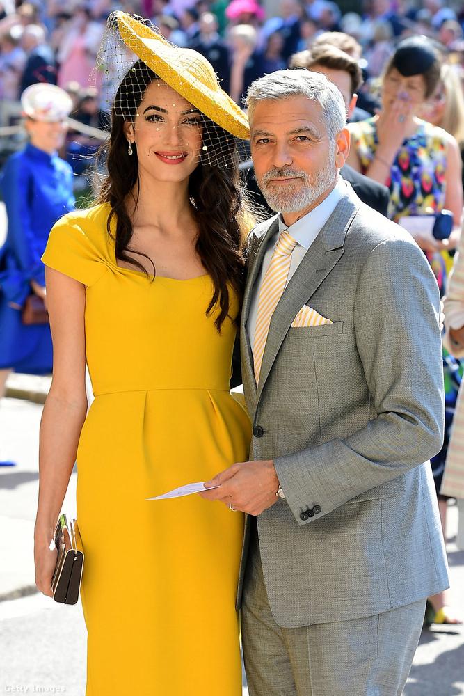 De ahogy azt már említettük, George Clooney és felesége, Amal Clooney is megjelent a nagy napon