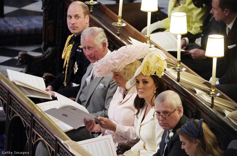 Vilmos herceg, Károly herceg, Kamilla és Katalin hercegné