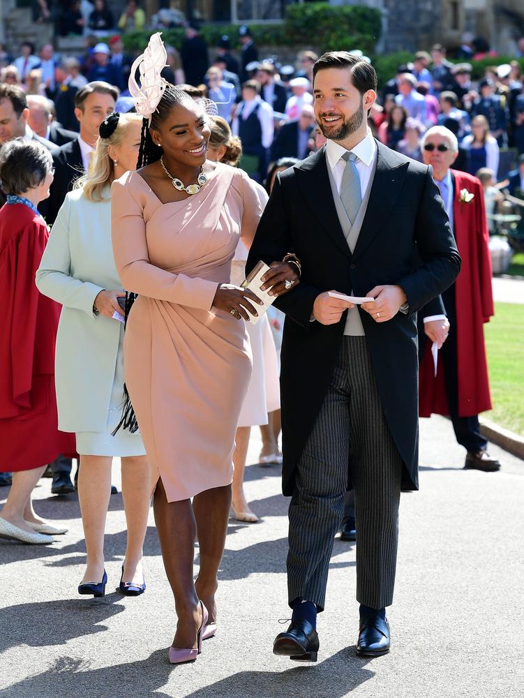 Serena Williams és férje, Alexis Ohanian is feltűnt a helyszínen