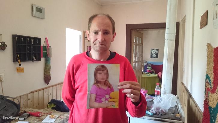 Az eltűnt kislány édesapja