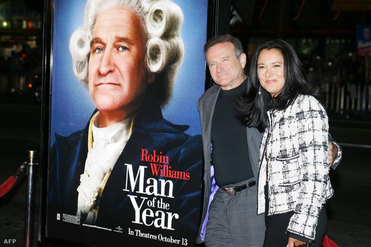 Robin Williams és akkori felesége, Marsha Garces 2006-ban