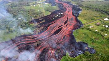 Súlyos vulkánkatasztrófa a Hawaii Nagy Szigeten