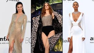 Palvin Barbara modellkolléganőivel bulizott – ki volt a legszebb?