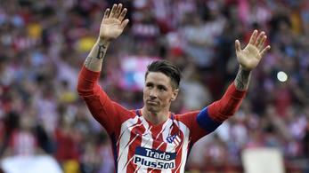 Duplával búcsúzott Fernando Torres az Atléticótól