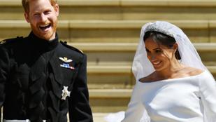 Tudja, mire táncolt először Harry herceg és Meghan Markle a lakodalmon?