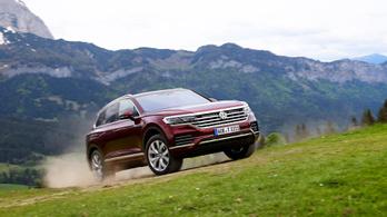 Bemutató: Volkswagen Touareg - 2018.