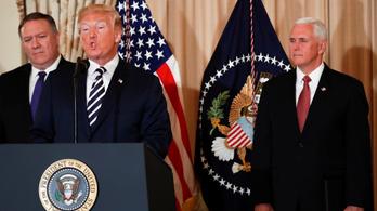 Trump kész a történelem legkeményebb szankcióival sújtani Iránt