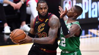 LeBron bepörgött, 44 pontjával törte össze a Bostont