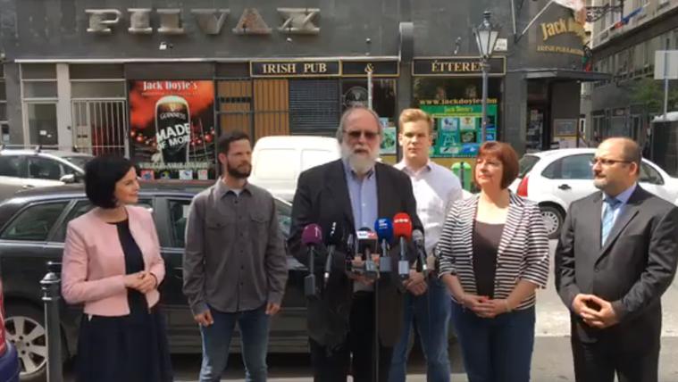 Nagy Béla lett az V. kerületi ellenzéki közös jelölt