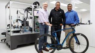 A világ első nyomtatott vázú szénszálas kerékpárja