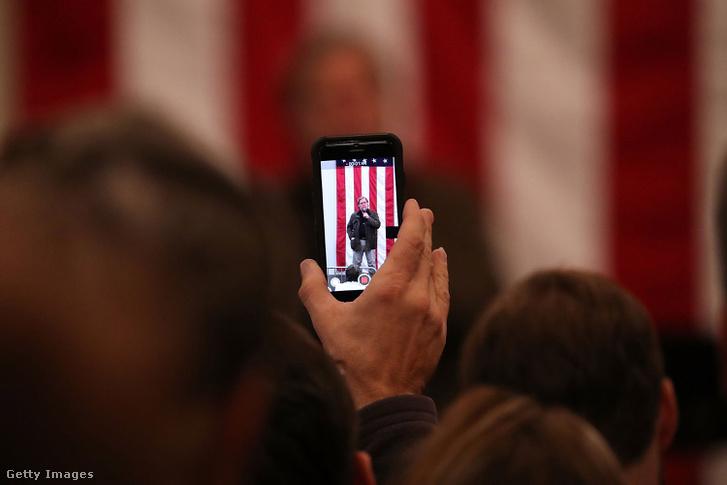Steve Bannon a Trump-kampány alatt.