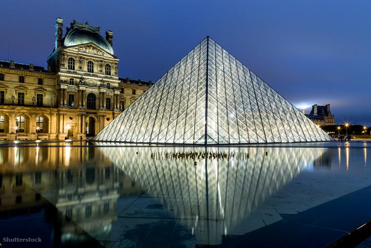 2017-ben a múzeumok versenyében a párizsi Louvre nyert