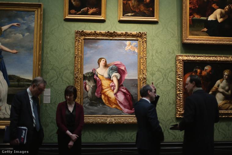 A londoni National Gallery ad otthont a világ egyik legnagyobb festménygyűjteményének.