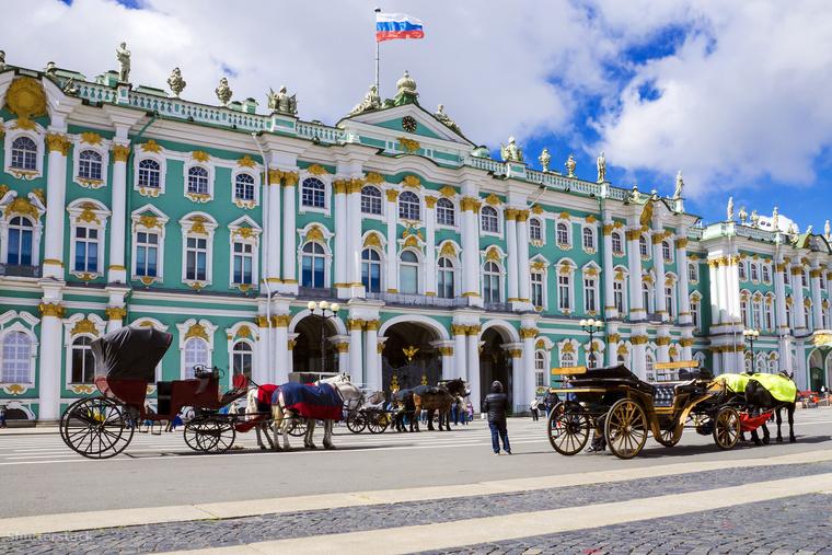 A szentpétervári Ermitázs Oroszország legnagyobb múzeuma