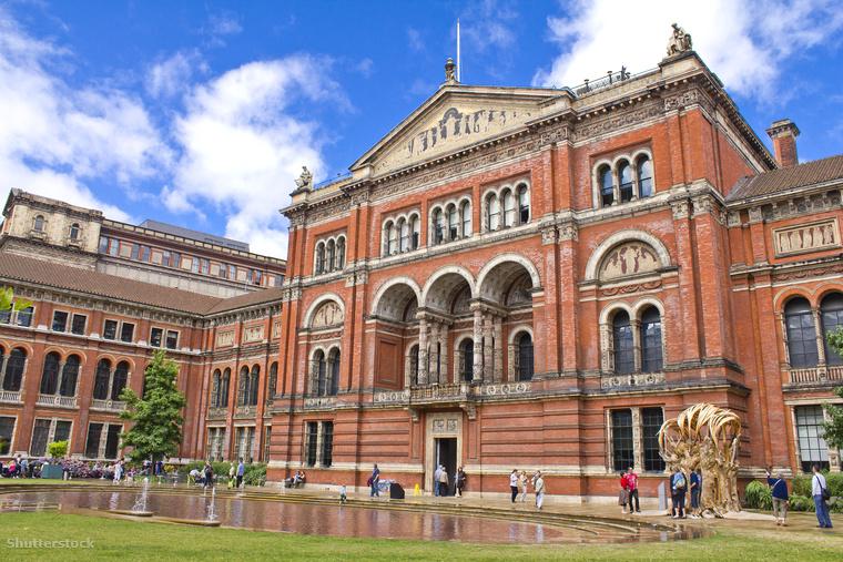 A londoni Victoria & Albert Múzeum a világ első iparművészeti múzeuma 160 éves múlttal, amely több millió műtárgy otthona