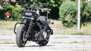 Teszt: Harley-Davidson Fat Bob 104 – 2018.