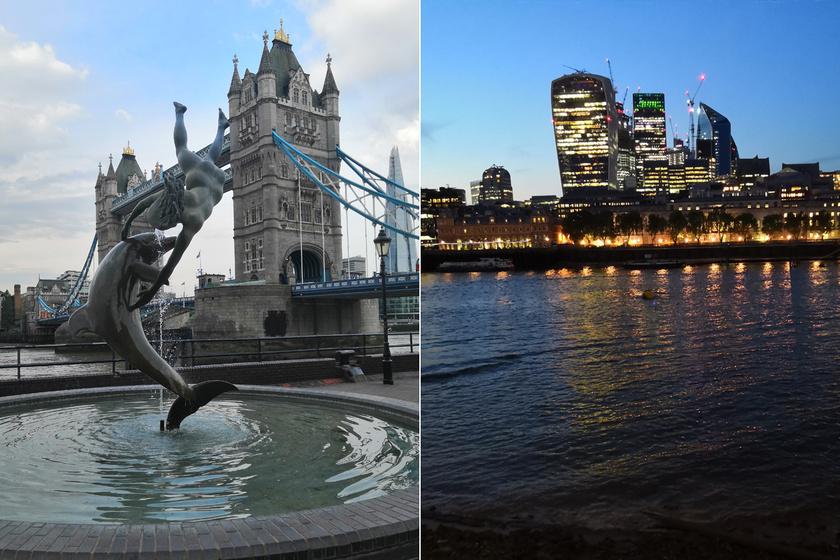 Gyönyörű képeket készítettem Londonról csupán egy telefonnal – Divatos, fiatalos és szuperül fotóz a Honor 10
