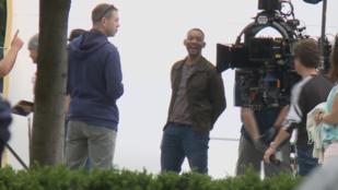 Will Smith egy hónapig Budapesten forgat