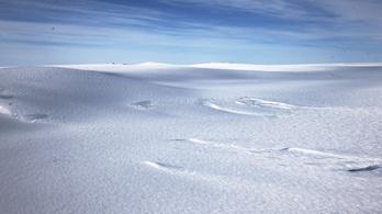 Legyen tó, legyen tó – így szólhatna a Frozen-dal az Antarktiszon