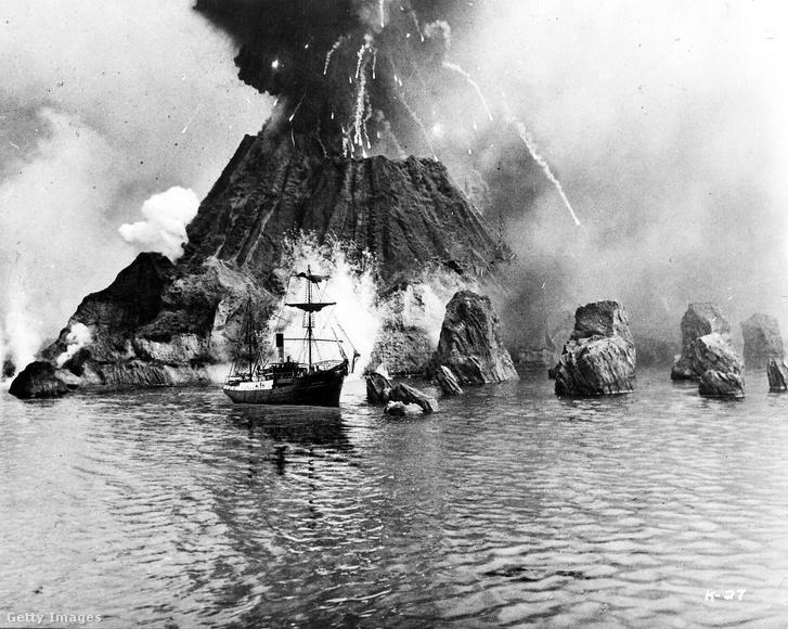 Képkocka az 1969-es Krakatoa, Jávától keletre című amerikai katasztrófafilmből