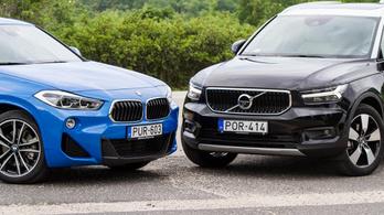 Összehasonlító: BMW X2 xDrive 20d – Volvo XC40 D4 AWD – 2018.