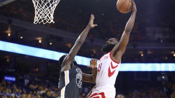 Curryék eldobták magukat, a Rockets büntetett