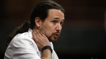 A Podemos vezetőit utolérte a politikusok átka