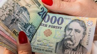 12,4 százalékkal nőttek a fizetések