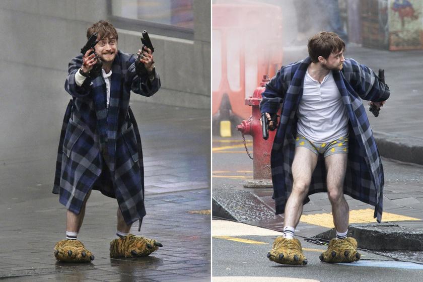 Ez a két kép lett a legnépszerűbb a forgatás fotói közül - tökéletesen megértjük, hogy miért. Nézd meg, milyen mémek lettek belőlük!