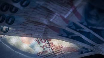 A forint is megérezte a török líra esését