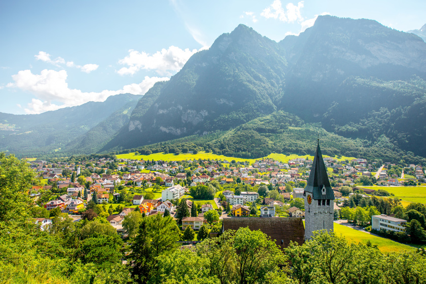 Alig járnak ide a magyarok, pedig álomszép hely: Liechtenstein gyönyörű