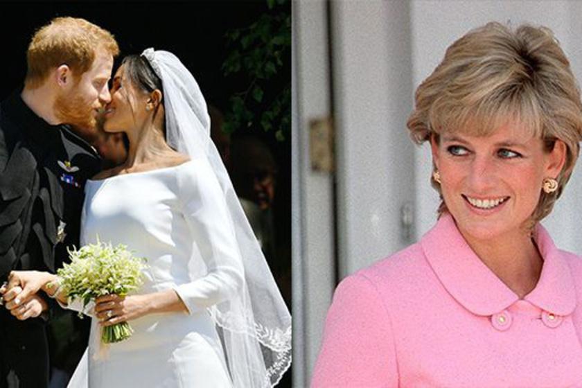 Dianára emlékezve: jelek Harry és Meghan esküvőjén