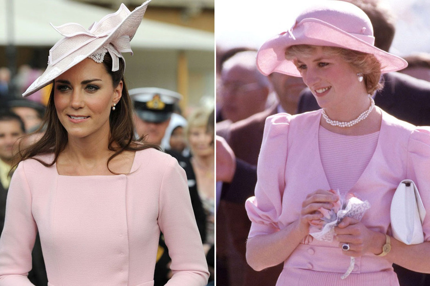Katalin hercegné stílusa olyan, mint Dianáé – Ennyire hasonló az ízlésük
