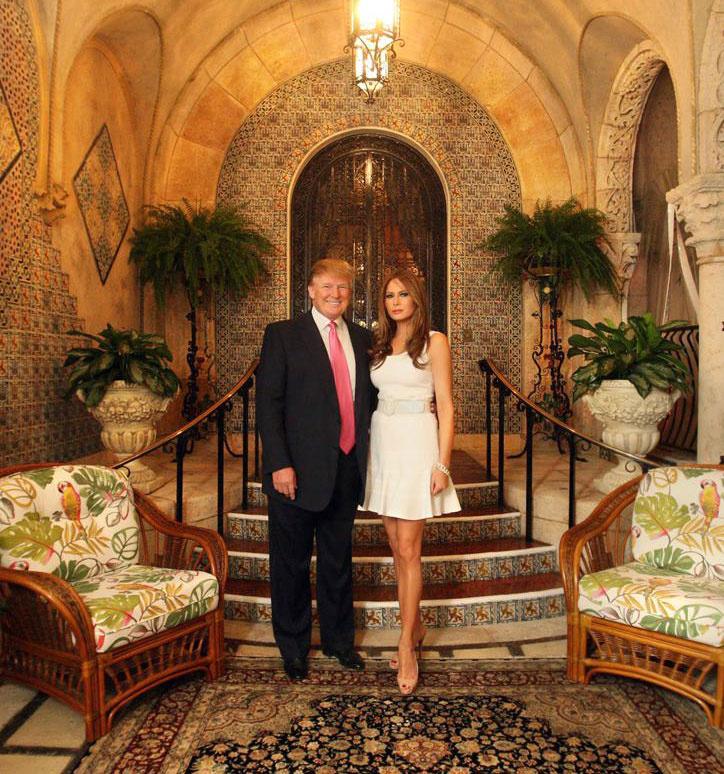 Donald Trump mar-a-lagói birtoka a fényűzésről szól.