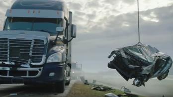 Ezért ne hajts a kamion elé