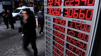 Megállítható-e a török devizaválság kamatemeléssel?