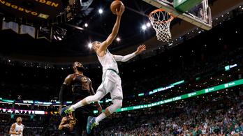A csoda kapujában a Celtics, megint nagyon verték LeBront