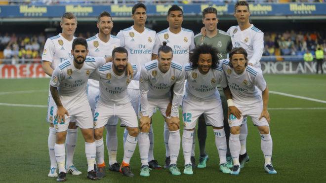 A Real legutóbbi kezdője, a Villarreal elleni bajnokin