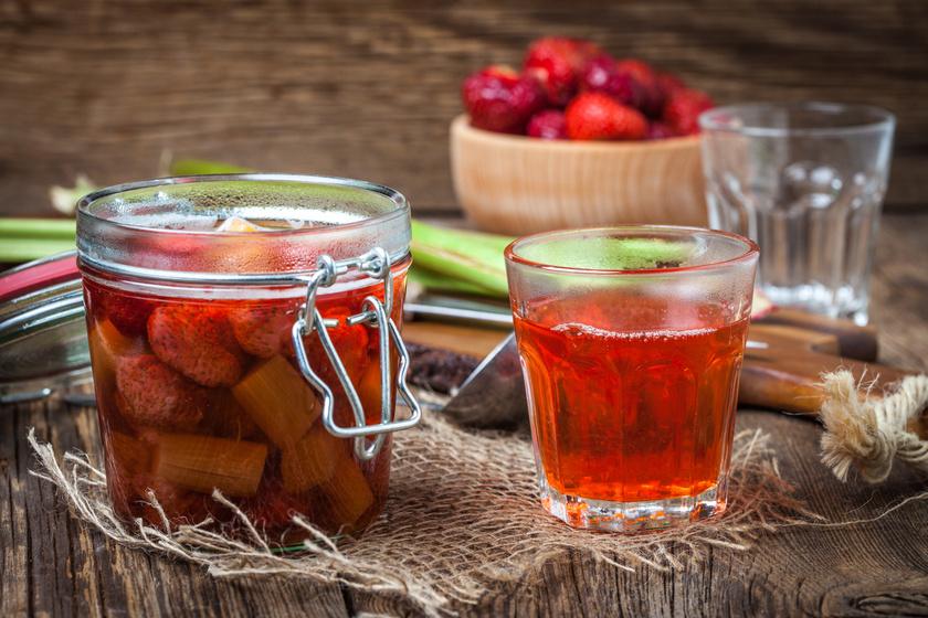 Fűszeres, epres rebarbarakompót: nem is hinnéd, milyen finom