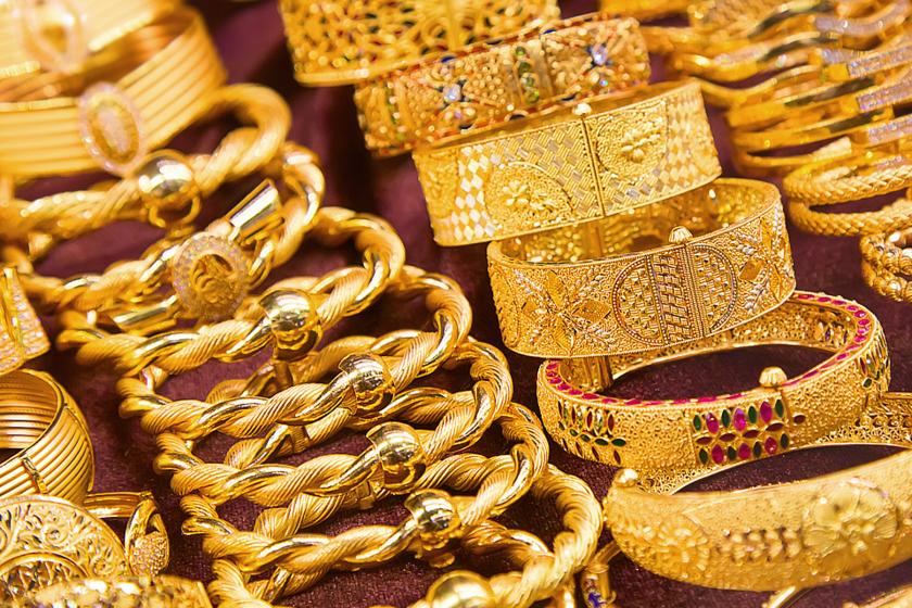 Tengernyi arany, ameddig a szem ellát: a legszebb ékszerekre Dubajban bukkanhatsz