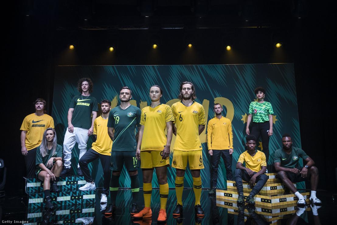 Az ausztrál válogatottat a Nike öltözteti
