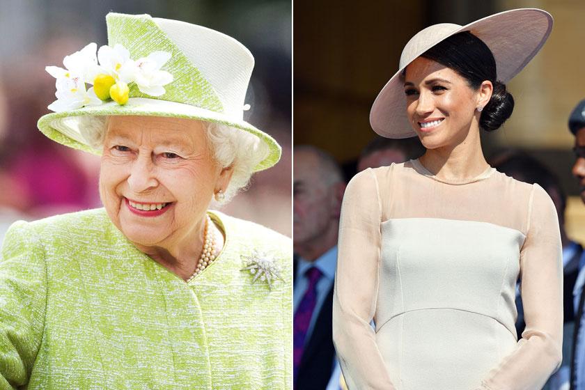 Ha a királynő otthonában tartózkodik Meghan, akkor nem mehet el lefeküdni előtte.