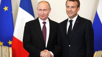Putyin és Macron együtt harcol a kiberbűnözés ellen