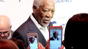 8 nő szexuális zaklatással vádolja Morgan Freemant
