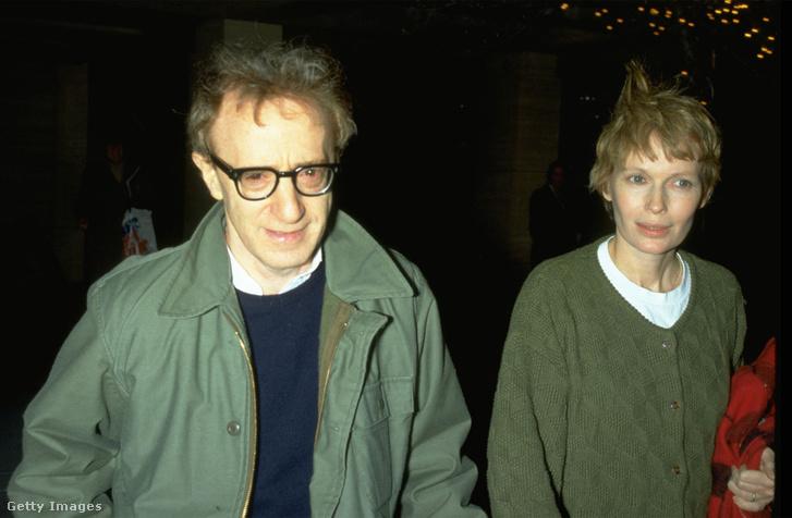 Woody Allen és Mia Farrow